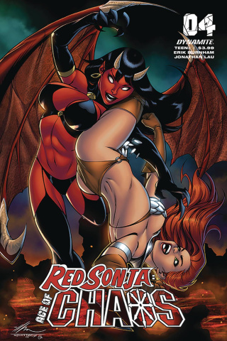 Red Sonja: Age of Chaos #4 (Garza Cover)