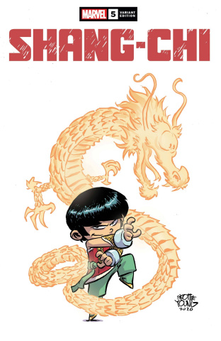 Shang-Chi #5 (Young Cover)