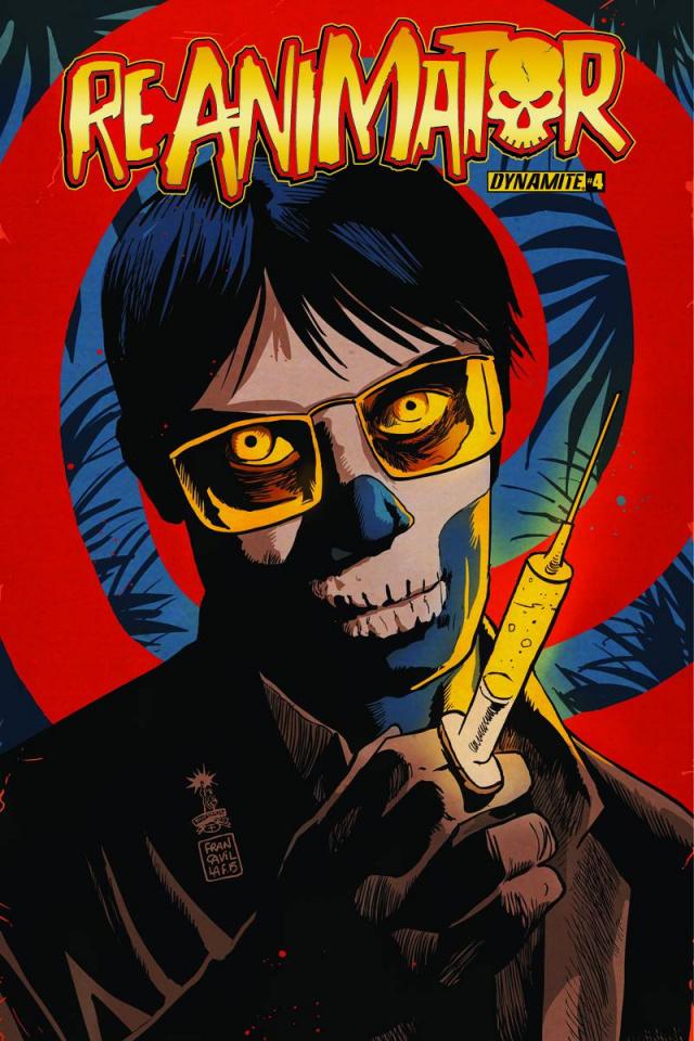 Reanimator #4 (Francavilla Cover)