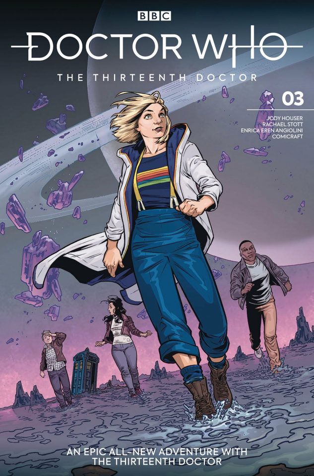 Doctor Who: The Thirteenth Doctor #3 (Isaacs Cover)