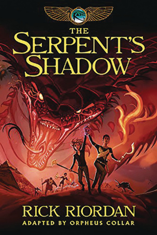 The Kane Chronicles Book 3: The Serpent's Shadow