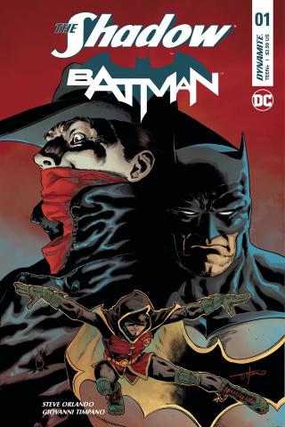 The Shadow / Batman #1 (Timpano Subscription Cover)