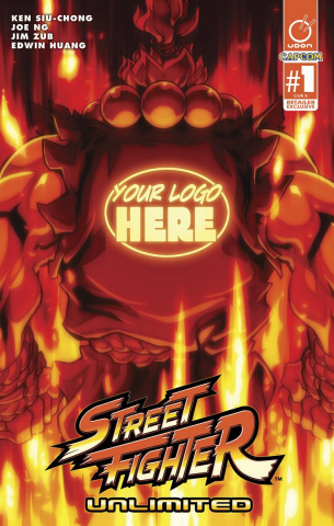 Street Fighter Unlimited #1 (Retailer Cover)