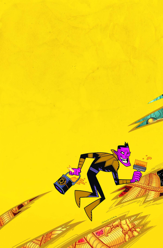 Sinestro #13 (Teen Titans Go! Cover)