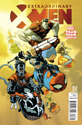 Extraordinary X-Men #13 (Johnson Tsum Tsum Cover)