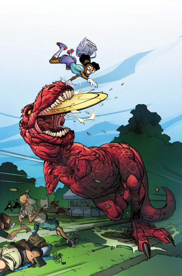 Moon Girl and Devil Dinosaur #13 (Ferry Cover)