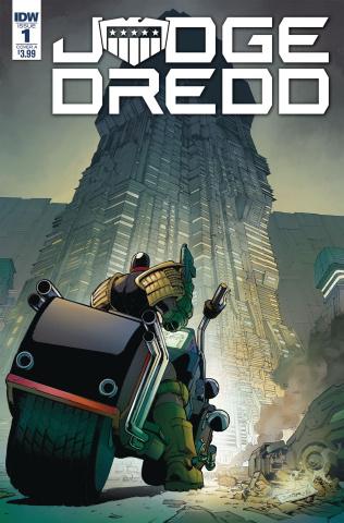 Judge Dredd: Under Siege #1 (Dunbar Cover)
