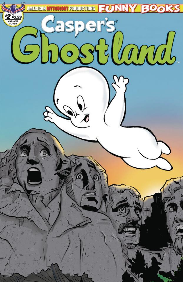Casper's Ghostland #2 (Mount Ghostmore Cover)
