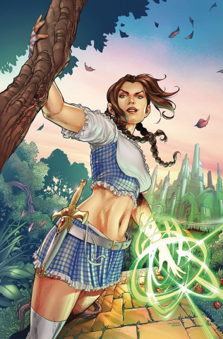 Oz: The Heart of Magic #1 (Coccolo Cover)