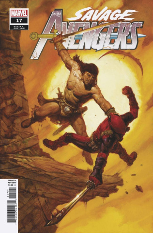 Savage Avengers #17 (Gist Cover)