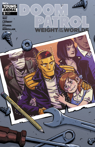 Doom Patrol: The Weight of the Worlds #5
