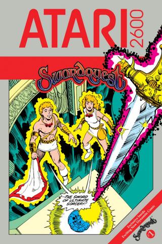 Swordquest #1 (Retro Perez Cover)