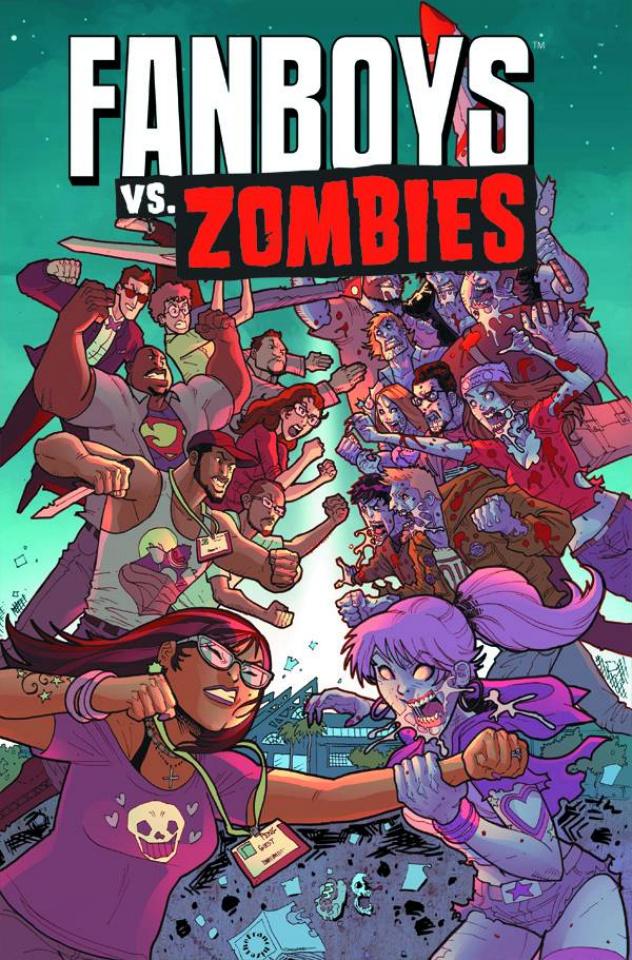 Fanboys vs. Zombies #20