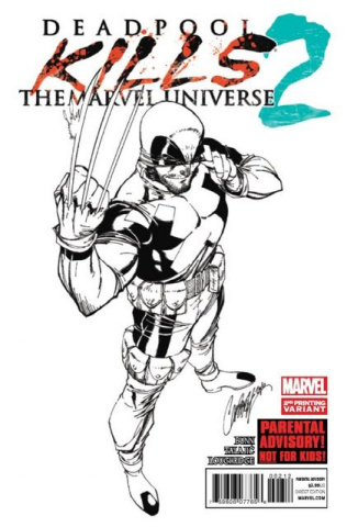 Deadpool Kills the Marvel Universe #2 (2nd Printing)