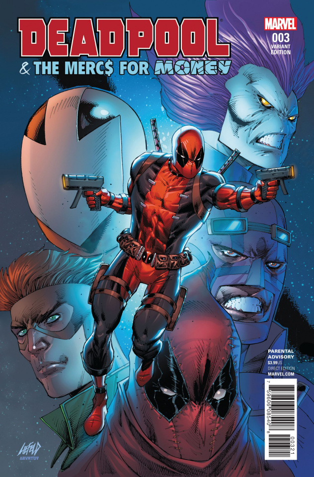 Deadpool and the Mercs For Money #3 (Liefeld Cover)