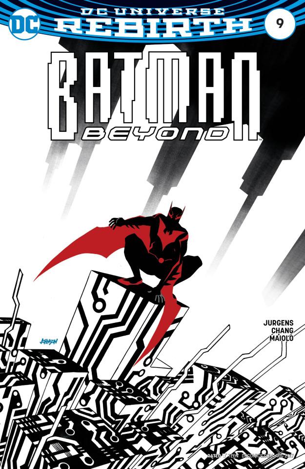 Batman Beyond #9 (Variant Cover)