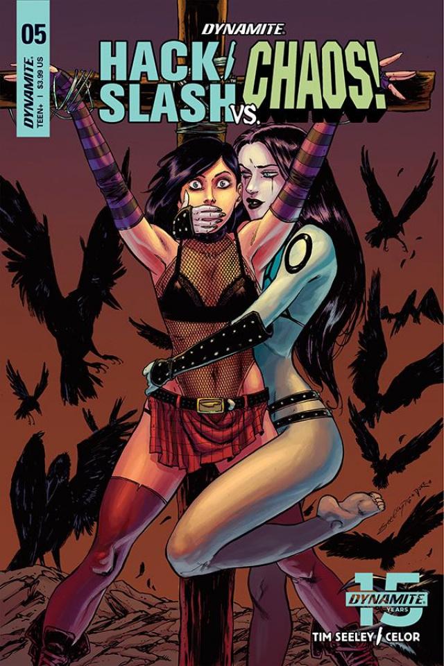 Hack/Slash vs. Chaos! #5 (Seeley Cover)