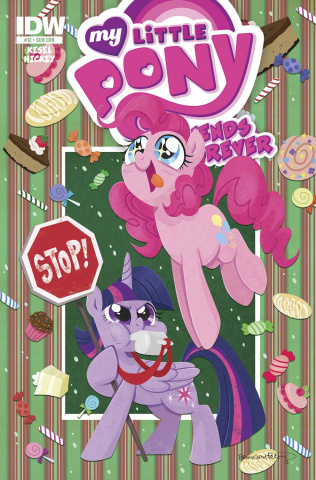 My Little Pony: Friends Forever #12 (Subscription Cover)