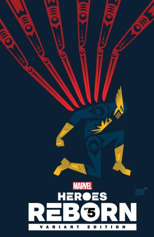 Heroes Reborn #5 (Veregge Cover)