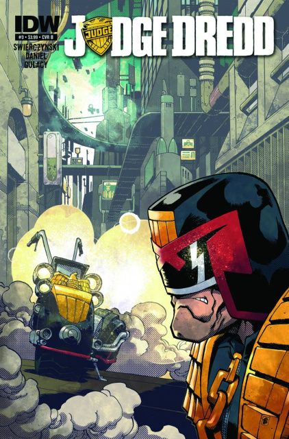 Judge Dredd #3 (Percival Cover)