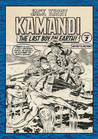 Jack Kirby: Kamandi Artist's Edition Vol. 2