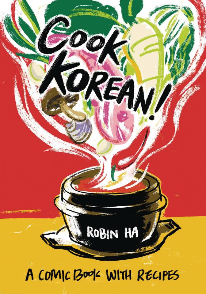 Cook Korean! A Comic Book With Recipes