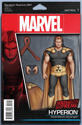 Squadron Supreme #1 (Christopher Action Figure Cover)