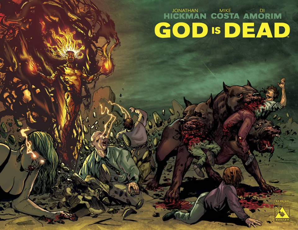 God Is Dead #6 (Carnage Wrap Cover)