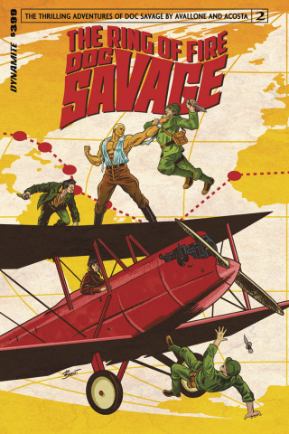 Doc Savage: The Ring of Fire #2 (Schoonover Cover)