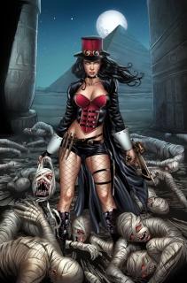 Grimm Fairy Tales: Van Helsing vs. The Mummy of Amun Ra #2 (Otero Cover)