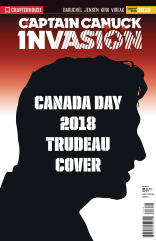Invasion (Character File Canada Day Trudeau Cover)