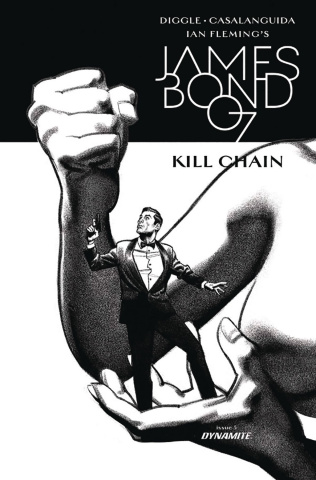 James Bond: Kill Chain #5 (10 Copy Smallwood B&W Cover)