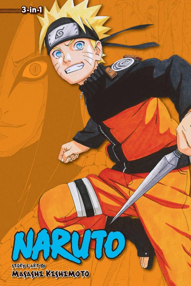 Naruto Vol. 11 (3-in-1 Edition)