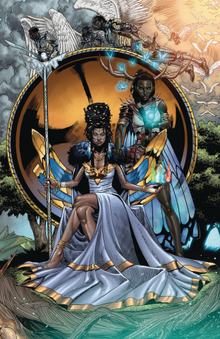Niobe: She Is Death #4 (Mitchell Cover)