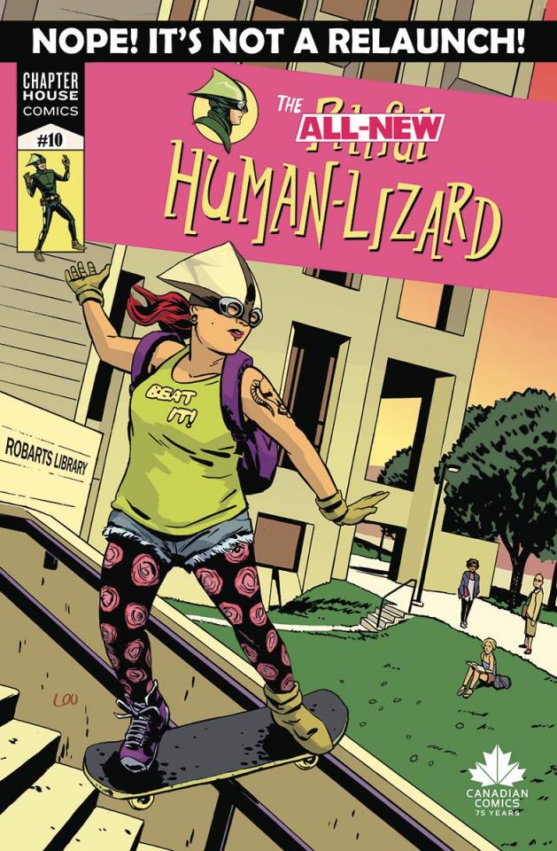 The Pitiful Human-Lizard #10 (Loo Cover)