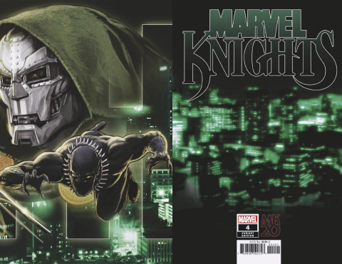 Marvel Knights: 20th Anniversary #4 (Andrews Connecting Cover)