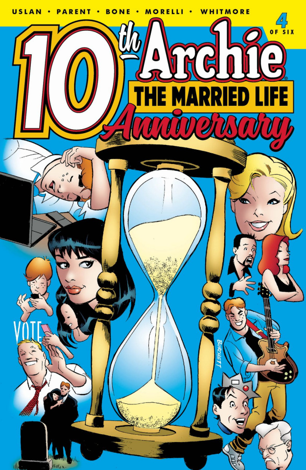 Archie: The Married Life - 10 Years Later #4 (Burchett Cover)