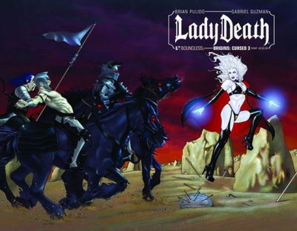 Lady Death Origins: Cursed #3 (Wrap Cover)