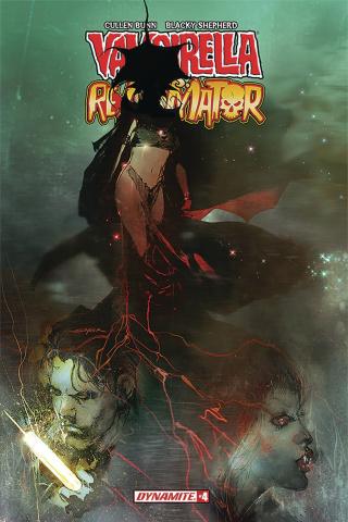 Vampirella vs. Reanimator #4 (Sayger Cover)