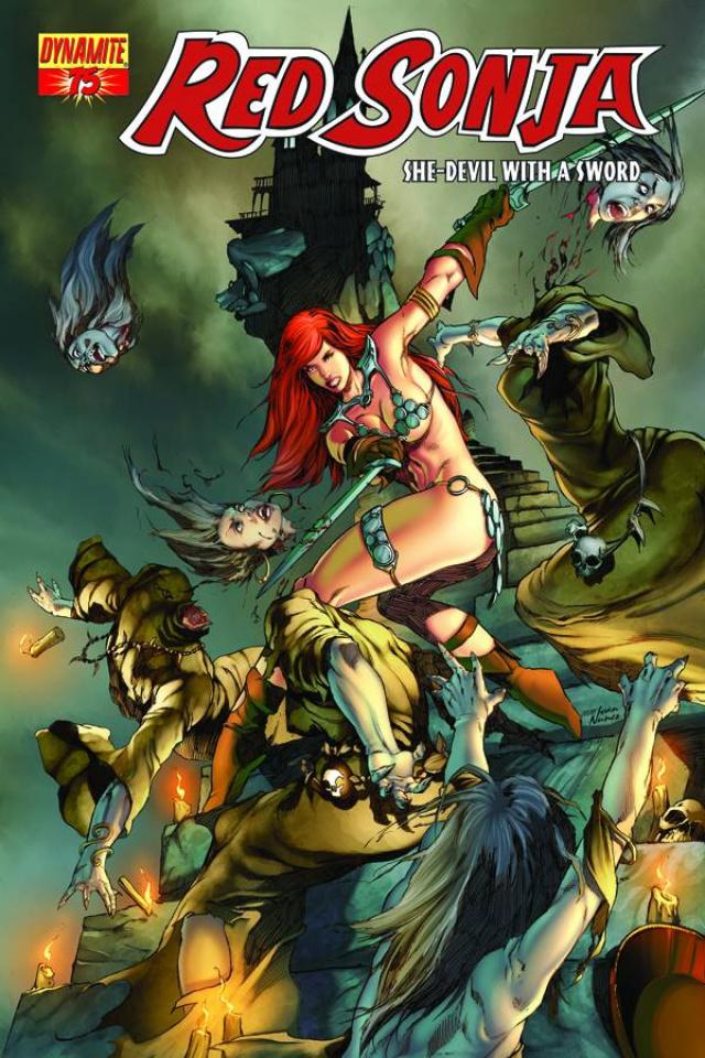 Red Sonja #75 (Rubi Cover)