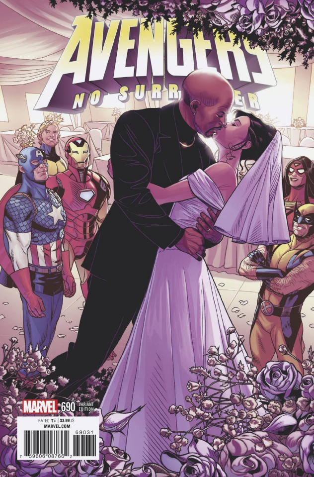 Avengers #690 (Sprouse End of An Era Cover)
