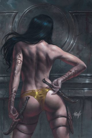 Dejah Thoris #10 (Parrillo Virgin Cover)