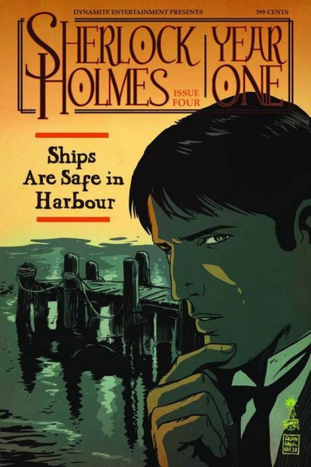 Sherlock Holmes: Year One #4