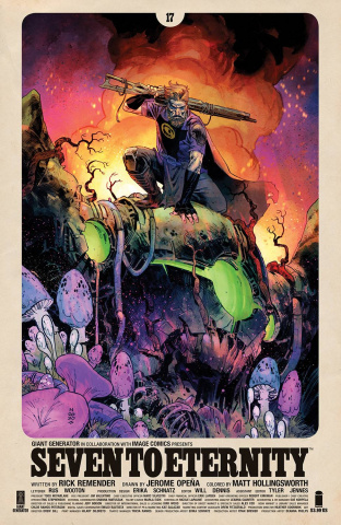 Seven to Eternity #17 (25 Copy Klein Cover)