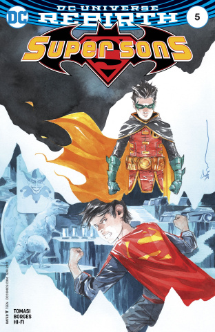 Super Sons #5 (Variant Cover)