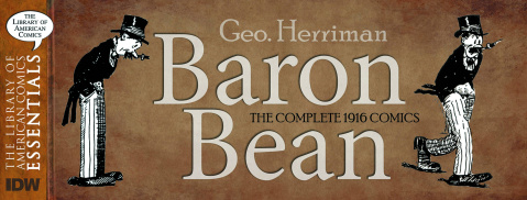 The Library of America Comics Essentials: Baron Bean Vol. 1: Baron Bean
