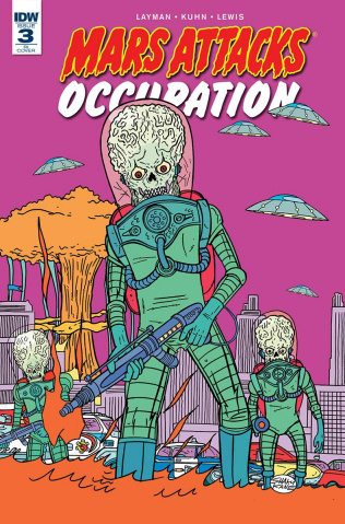 Mars Attacks: Occupation #3 (10 Copy Cover)