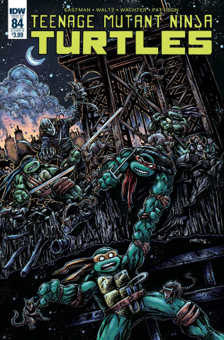 Teenage Mutant Ninja Turtles #84 (Eastman Cover)