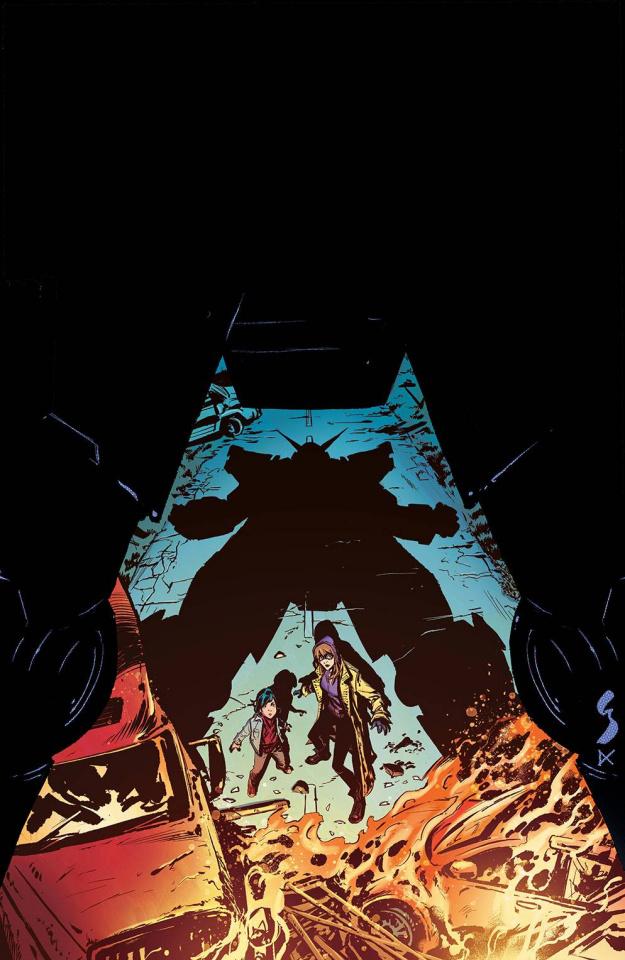 Crossover #3 (10 Copy Shaw Virgin Cover)