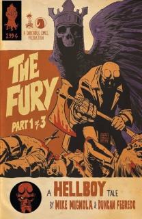 Hellboy: The Fury #1 (Francavilla Cover)